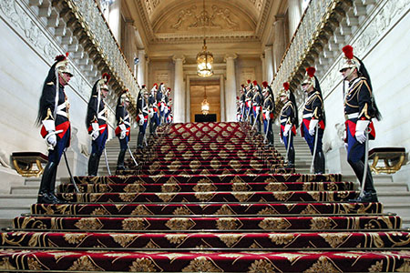 Escalier d'Honneur © Photographes du Sénat