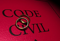 Code civil avec alliances © Fotolia Olivier le Moal